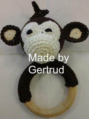 bijtring aapje Gert…